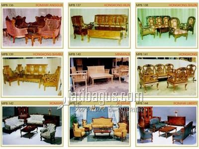 Gambar Kursi Tamu Sofa Minimalis Katalog MPB 136, 137, 138, 139, 140, 141, 142, 143, 144