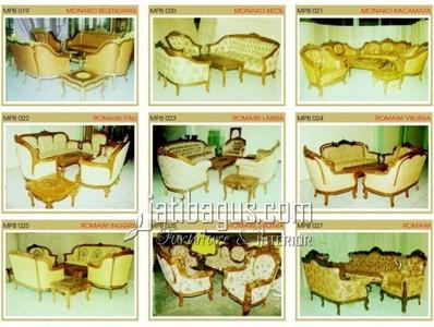 Gambar Kursi Tamu Sofa Elegan Katalog MPB 019, 020, 021, 022, 023, 024, 025, 026, 027
