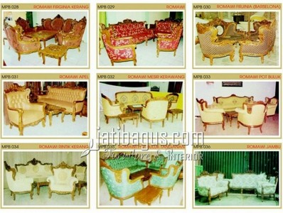 Gambar Kursi Tamu Sofa Elegan Katalog MPB 028, 029, 030, 031, 032, 033, 034, 035, 036