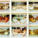 Gambar Kursi Tamu Sofa Elegan Katalog MPB 037, 038, 039, 040, 041, 042, 043, 044, 045