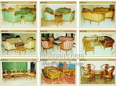 Gambar Kursi Tamu Sofa Elegan Katalog MPB 055, 056, 057, 058, 059, 060, 061, 062, 063
