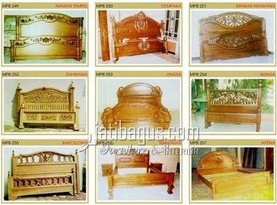 Gambar #8 Dipan Tempat Tidur Katalog MPB 249, 250, 251, 252, 253, 254, 255, 256, 257