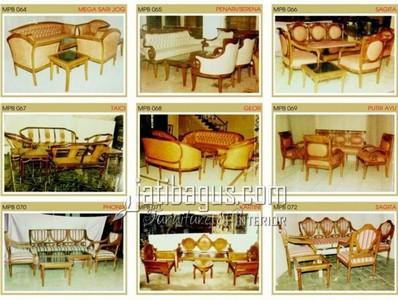 Gambar Kursi Tamu Sofa Elegan Katalog MPB 064, 065, 066, 067, 068, 069, 070, 071, 072