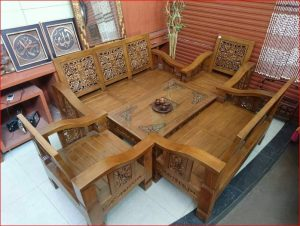 Kursi Tamu Minimalis Flamboyan Kawung