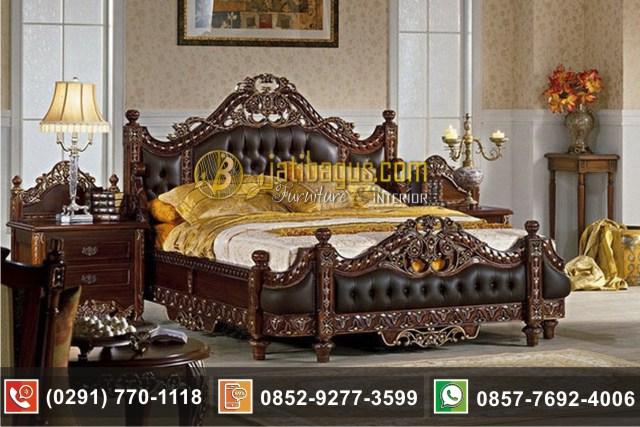 Tempat Tidur Mewah Racoco Jok Sandaran Busa Model Terbaru