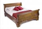 tempat tidur bagong model blok jati