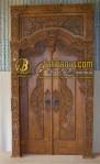 Pintu Gebyok Majapahit Ukir | Gebyok Pintu Majapahit Jati