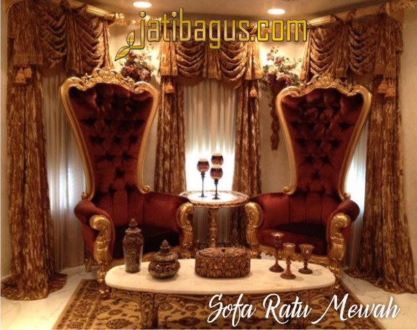 Sofa Ratu Mewah - Sofa Queen