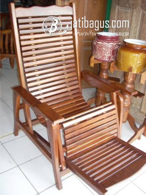 Foto Kursi Goyang Krepyak Kayu