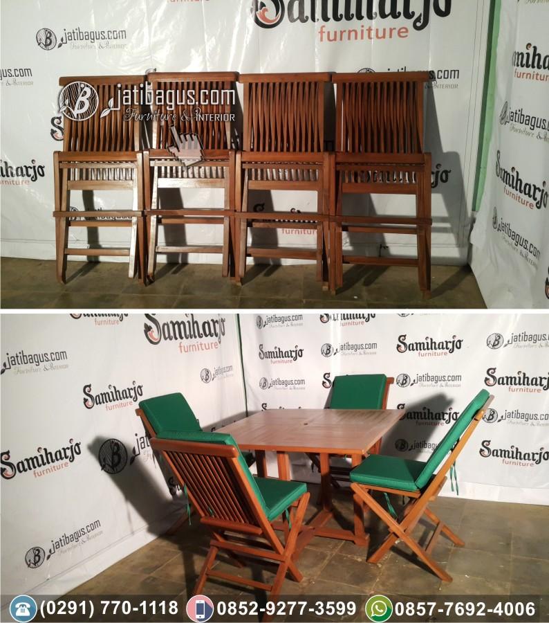 Meja Payung Taman / Kursi Lipat