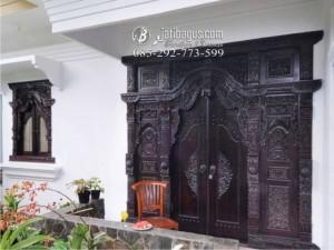 Pintu dan Jendela Model Gebyok