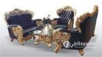 Set Kursi Sofa Mewah Bellagio Gold