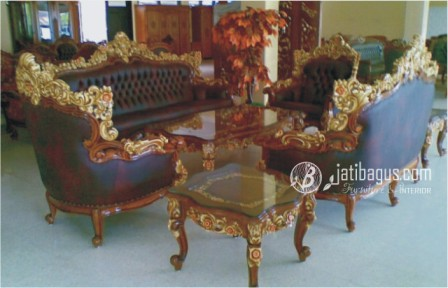 Set Kursi Tamu Sofa Barcelona Royal