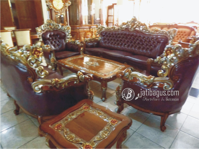 Set Kursi Tamu Sofa Royal Barcelona