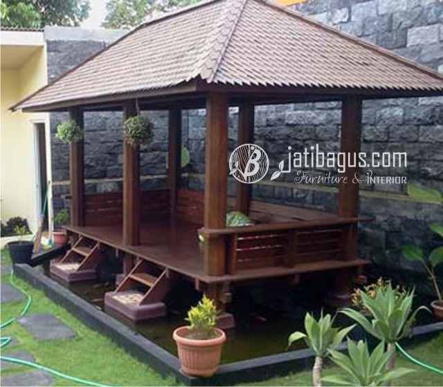43 Foto Desain Taman Belakang Rumah Dengan Gazebo Gratis Terbaik Download