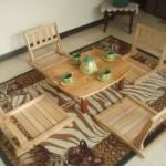 Kursi Lesehan Model Jepang bisa dilipat