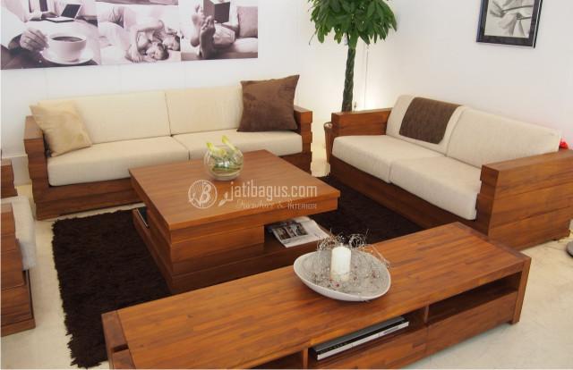 Kursi Tamu Sofa Minimalis Jati ke Trenggalek