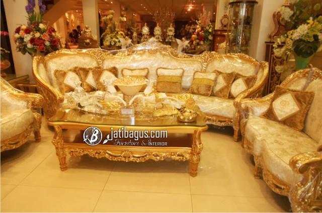 Kursi tamu Sofa Ukir Model Olimpia Ruang Tamu Bagus