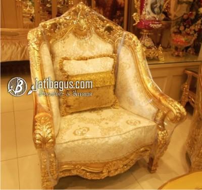 Kursi tamu Sofa Olimpia Ruang Tamu 1 seat