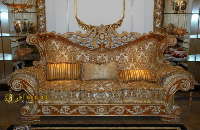Model Set Kursi Tamu Sofa Richi Italian Lux