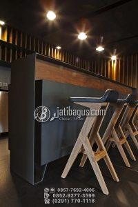 Kursi Cafe Minimalis Desain Lancip Modern