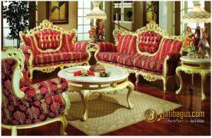 Kursi Tamu Sofa Duco Victorian New