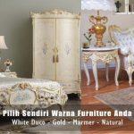 Pilih Sendiri Warna Furniture Anda