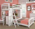 Tempat Tidur Tingkat sambung Meja Belajar Anak