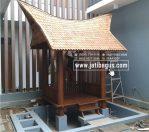 Produksi Gazebo Mini Model Rumah Adat