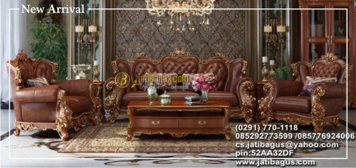 Kursi Sofa Ukir Roman Monaco Model NEW ARRIVAL