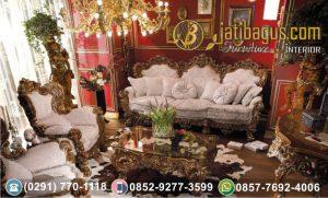 Kursi Tamu Sofa Ukir Klasik Calista Alexandria