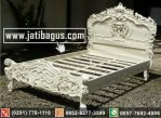 Tempat Tidur Ukir Racoco Duco Ukiran Mewah