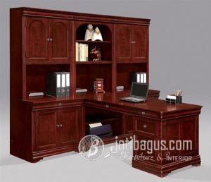 Bufet Meja Kantor Minimalis  Klasik