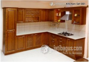 Kitchen Set Minimalis Natural