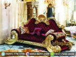 Kursi Sofa Tunggal Mewah Moscow