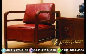 Kursi Sofa Tunggal Minimalis Lengkung