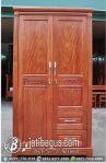 Lemari Pakaian Minimalis Pintu Dua Model Vietnam