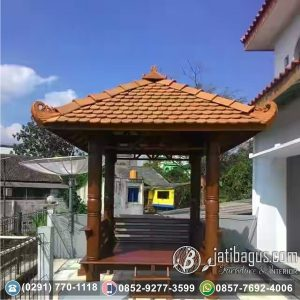 Gazebo Atap Sirap Murah