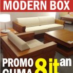 PROMO Kursi Tamu Minimalis Modern Box Harga Murah