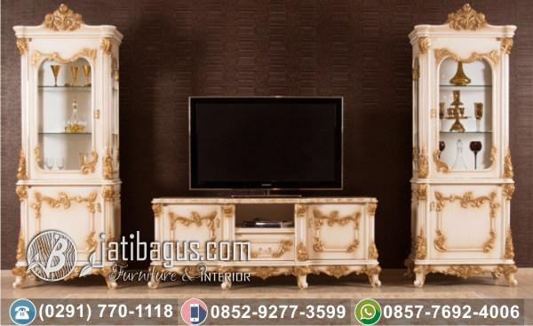 Bufet Tv Hias Ukir Duco Gold