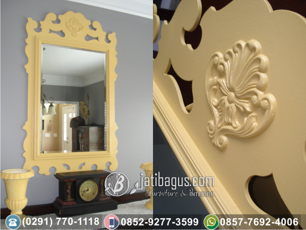 Frame Pigura Cermin Ukir Mewah Valencia