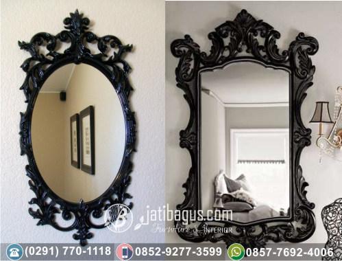 Frame Bingkai Cermin Ukir Mewah Jati Jepara