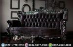 Kursi Sofa Panjang Ukir Mewah Black Edition Terlengkap