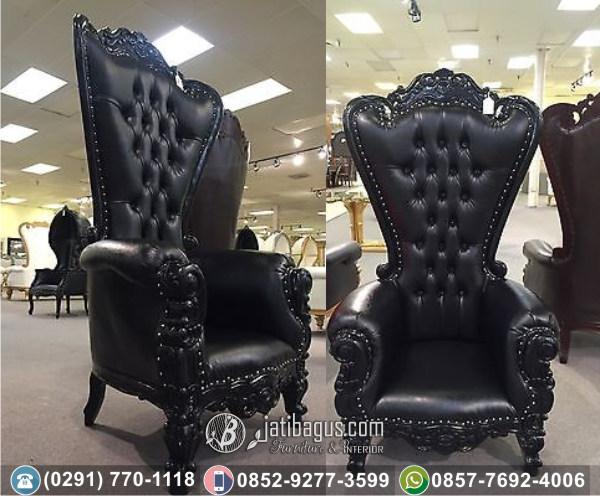 Kursi Sofa Tunggal Syahrini Black Edition