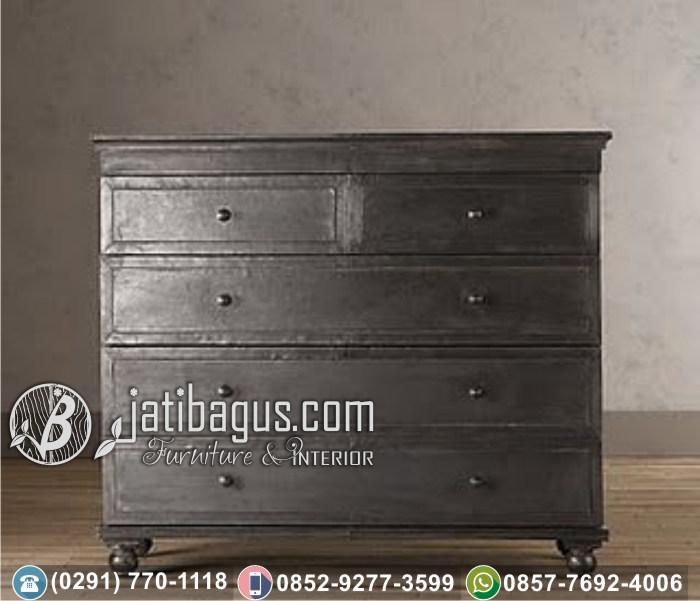Nakas Bedside Minimalis Bronzed