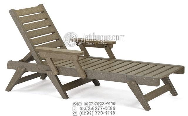 Jual Kursi panjang santai pantai bali lonjer kayu jati asli