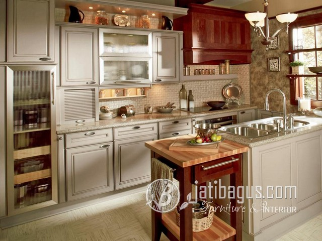 Kitchen Set Minimalis Duco Putih Swalford