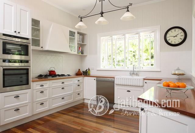 Kitchen Set Minimalis Duco Putih