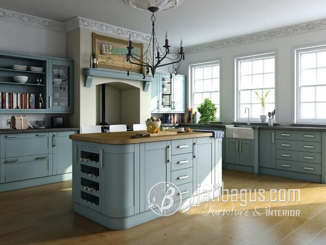 Kitchen Set Minimalis Duco Putih Swinton