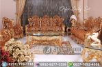 Kursi Tamu Sofa Ukir Mewah Orfeo Living Set Gold